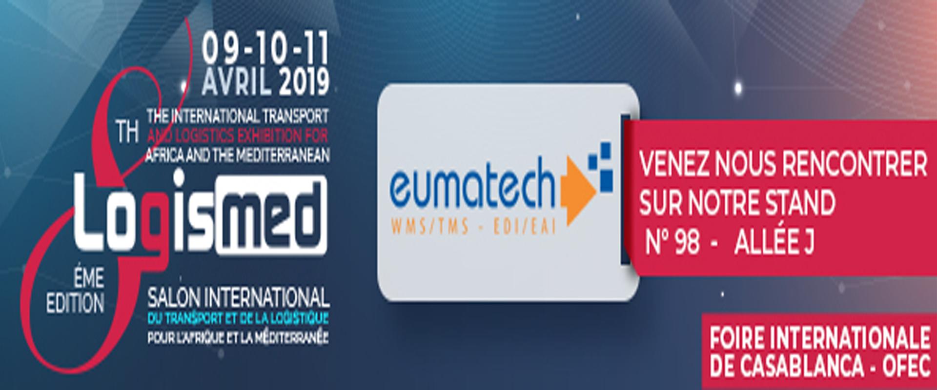 Eumatech participera au salon Logismed 2019